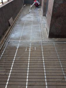 Электообогрев террасы